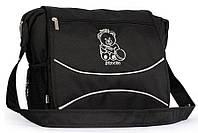 Сумка для коляски Baby Breeze 0350 черная - 156100