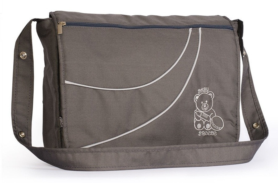 Сумка для коляски Baby Breeze графит - 155987