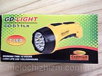 Фонарь аккумуляторный светодиодный GDLITE GD-611 (Арт. 611)