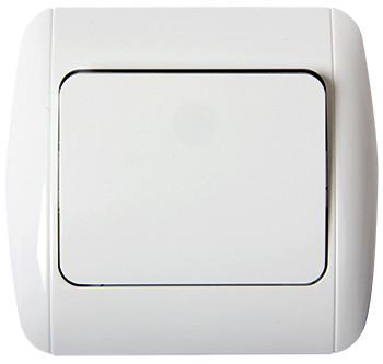 Выключатель e.install.stand.811 одноклавишный с рамкой ENEXT [s035022]