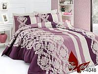 Полуторный комплект постельного белья из ранфорса R4048 Шарлота