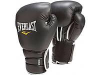 Боксерские перчатки EVERLAST Protex3 Elite 12 и 16 унций тренировочные, кожаные перчатки для бокса