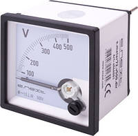 Вольтметр щитовой e.meter72.v500.dir AC 500В прямого включения ENEXT [s066001]