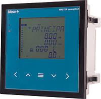 Регулятор реактивної потужності (на 6 ступенів), AC110…480В, RS485 E.NEXT [MASTER06]