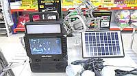 Портативная солнечная станция фонарь+телевизор TV FM GDLite GD 8086