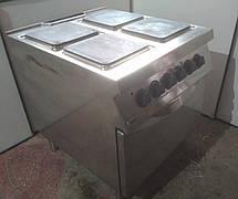 Электроплита Zanussi NCFE800 Б/У. на 4 конфорки