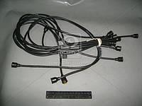 Провод зажигания ЗИЛ 130 силикон черн. 9шт. (пр-во Украина) (арт. 130-3706371)
