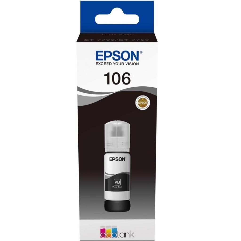Контейнер с чернилами EPSON L7160/L7180 black (C13T00R140)