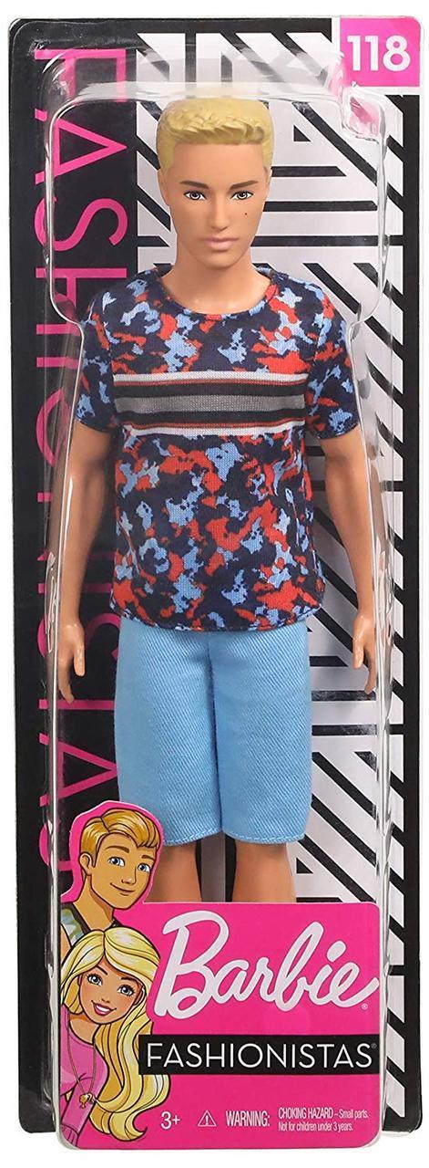 Кукла Барби Кен Модник - Barbie Ken Fashionistas (FXL65)