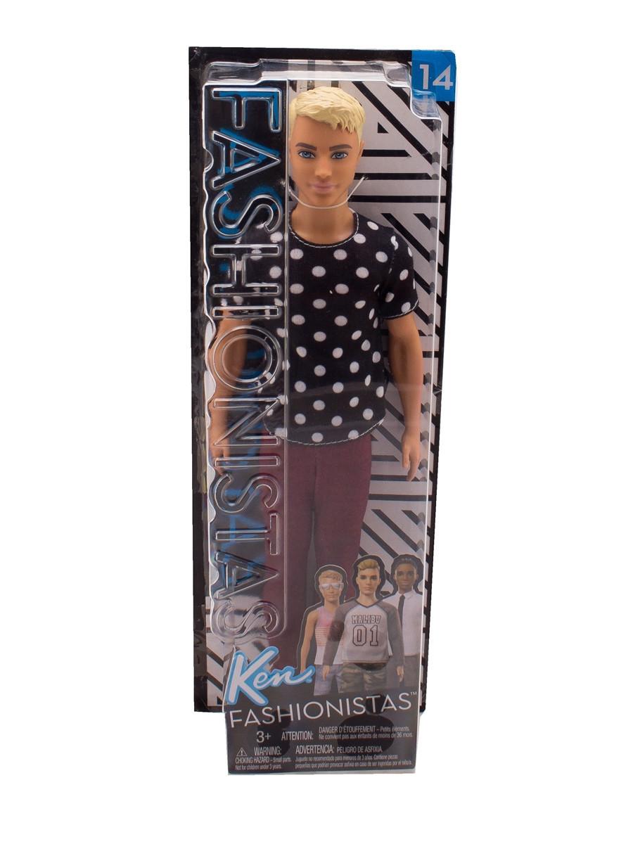 Кукла Барби Кен Модник - Barbie Ken Fashionistas Black & White (FJF72)