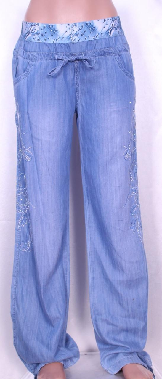 271dfd79de3 Летние женские джинсы из тенселя (30-34размеры )  продажа