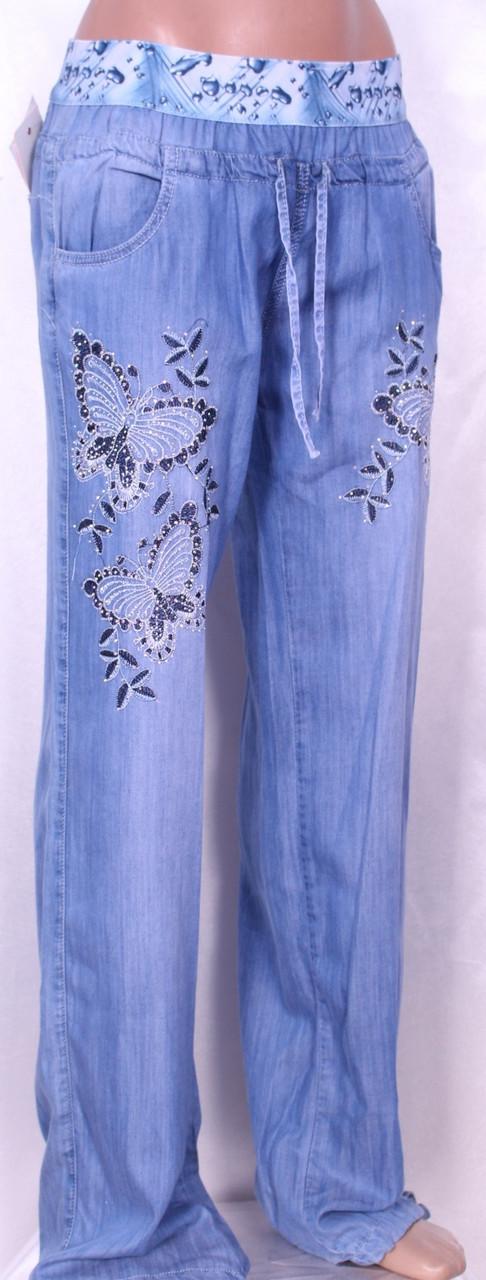 a509f24a3d1 Летние женские джинсы из тенселя  продажа