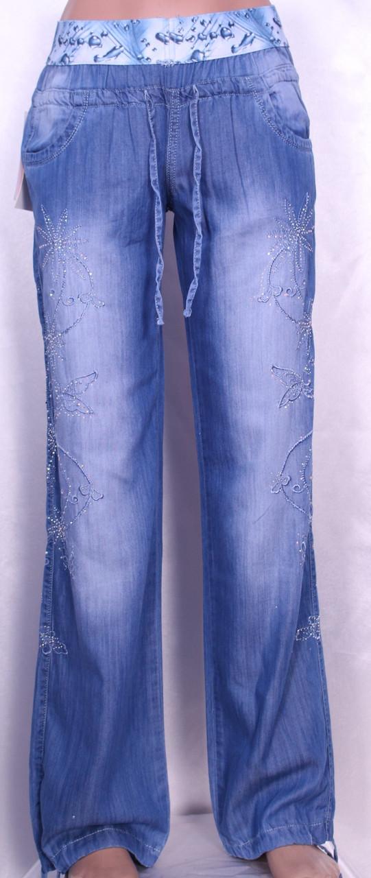 3e40457ca79 Летние женские джинсы из тенселя (27-32 размеры)  продажа