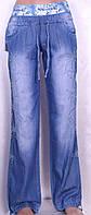 Летние женские джинсы из тенселя (27-32 размеры)