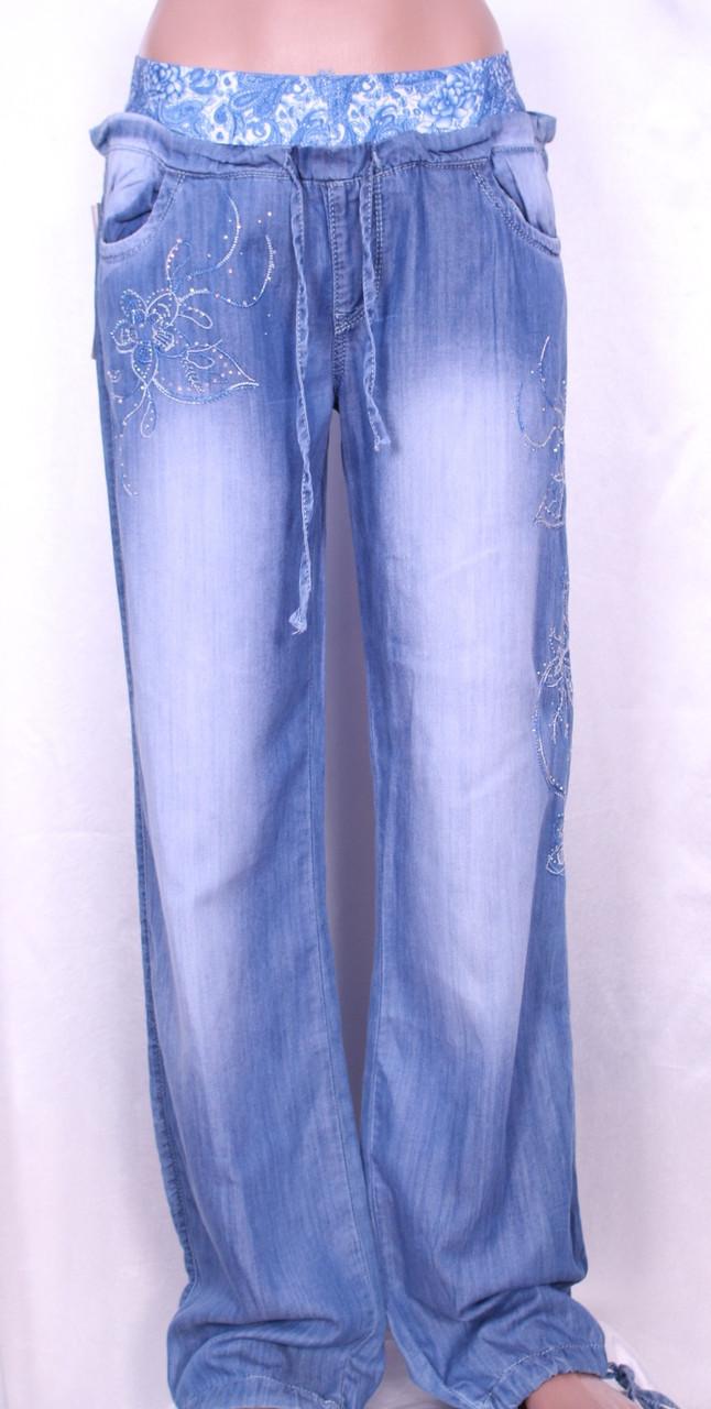59ab1ff93f0 Летние женские джинсы из тенселя - Интернет-магазин
