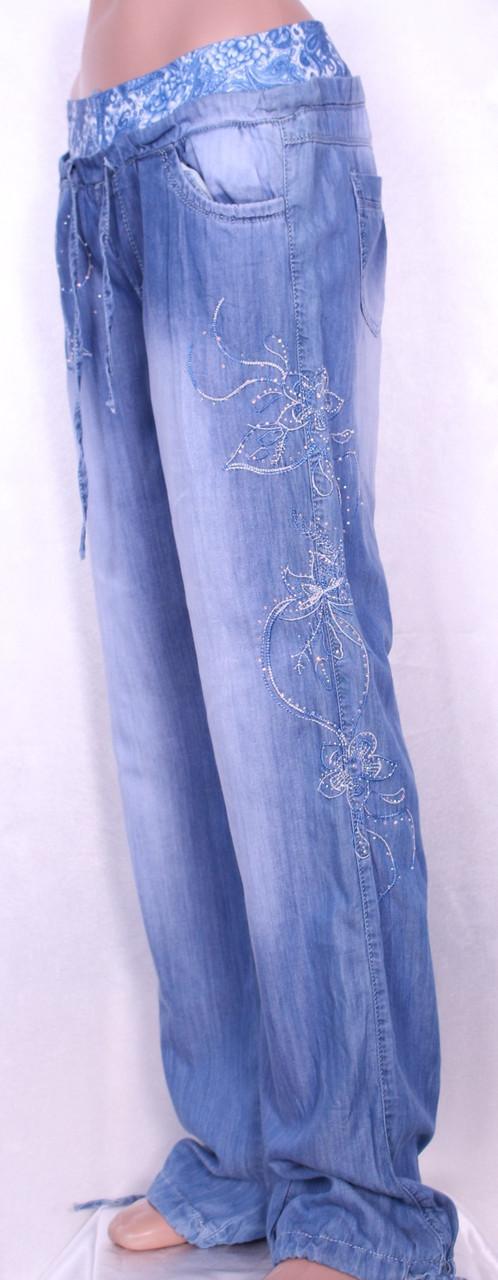 2c259964c32 Летние женские джинсы из тенселя