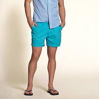 Голубые шорты Hollister, фото 1