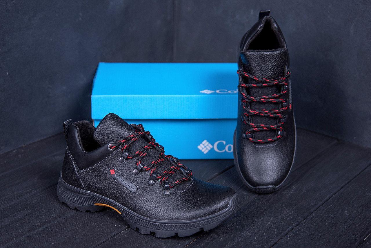 Мужские кожаные кроссовки в стиле Columbia Track Control