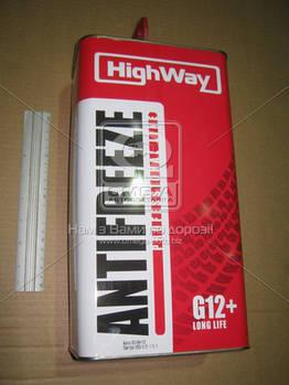 Антифриз HighWay ANTIFREEZE-40 LONG LIFE G12+ (красный) 5кг (арт. 10004)