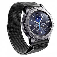 Ремешок BeWatch миланская петля для Samsung Gear S3 Black