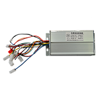 Контроллер 48V / 500W с задним ходом для электродвигателей постоянного тока
