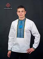 Мужская рубашка с тканой нашивкой 2015