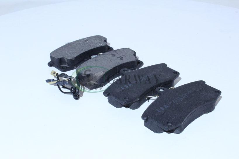 Колодки передні гальмівні ВАЗ 2110-12 (ел. датч.) LA 2110-3501090-EL LSA