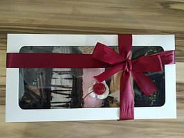 Картонная коробка,  размер 150*300*50, с окошком