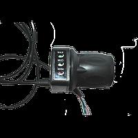 Ручка газа с индикатором уровня заряда батареи