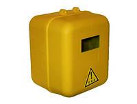 Ящик для газового счетчика пластиковый желтый