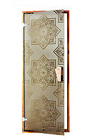 "Дверь для сауны ""СЕЗАМ 2050*800"", дверь для хаммама"