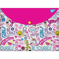 Тека-конверт на кнопці А4 YES Be yourself