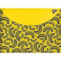 Тека-конверт на кнопці А4 YES Bananas