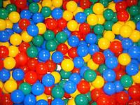 Мячики большие 80мм - 50шт