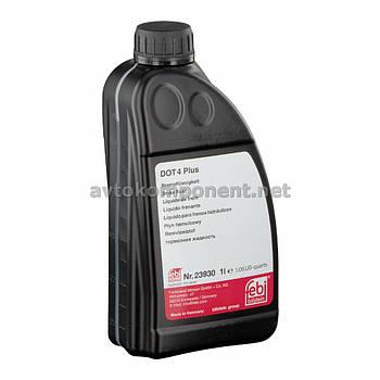 Жидкость тормозная FEBI DOT4 Plus (Канистра 1л) (арт. 23930)