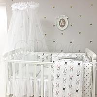 Комплект в кроватку Shine Алиса, белый, фото 1