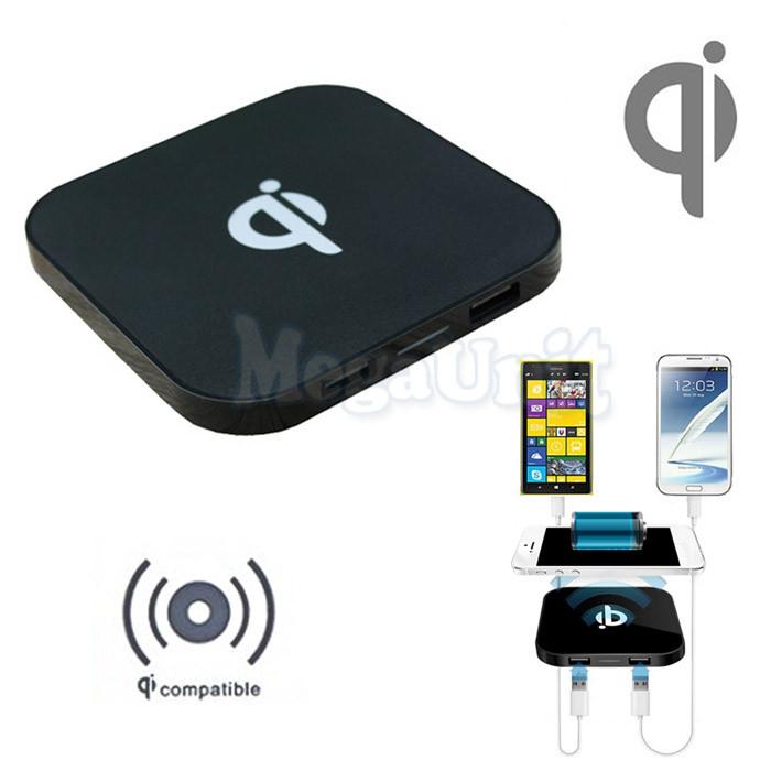 Qi Беспроводное зарядное устройство  с USB выходами (Wireless charger)  FX-Q8