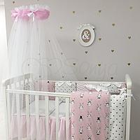Комплект в кроватку Shine Алиса, розовый, фото 1