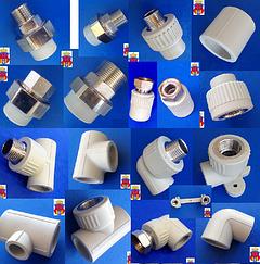 Фитинги для полипропиленовых труб Отопление Водопровод