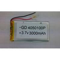 Аккумулятор литий-полимерный 0450100P 3.7V 3000mAh