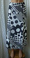 Юбка женская легкая летняя макси бренд Lucia р.50, фото 1