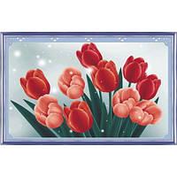 """""""Тюльпаны"""" Набор для рисования стразами"""