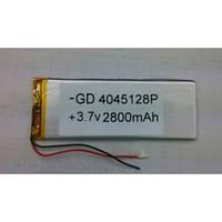 Аккумулятор литий-полимерный 0445128P 3.7V 2800mAh