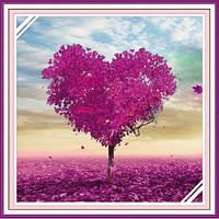 """""""Любовное дерево"""" Набор для рисования стразами"""