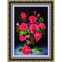 """""""Розы"""" Набор для рисования стразами"""