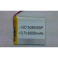 Аккумулятор литий-полимерный 058095P 3.7V 5000mAh