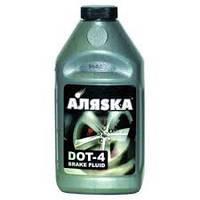Тормозная жидкость DOT-4, Аляска 1л