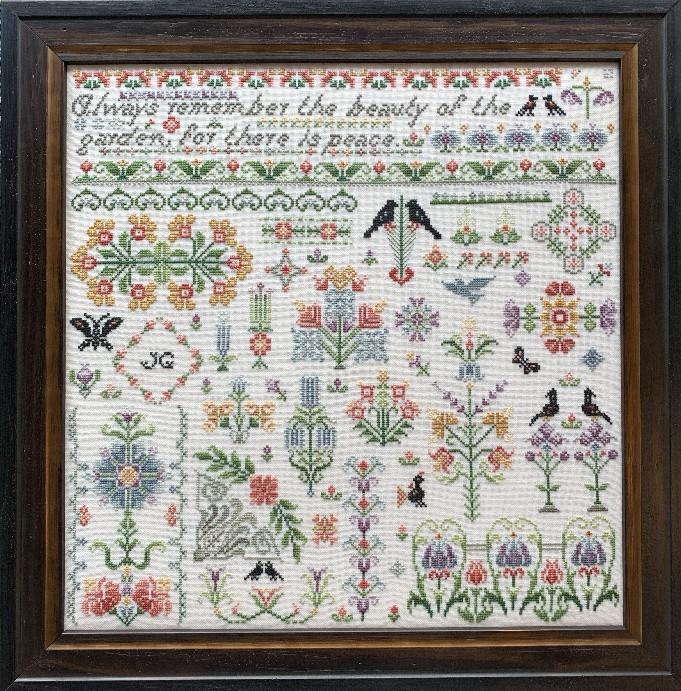 Схема для вышивки BRAMLEY GARDEN Rosewood Manor