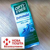 Розчин для контактних лінз Alcon, Opti-Free PureMoist, 300 мл, фото 1