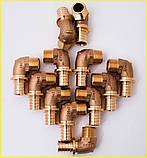 Коліно Rehau RX Ø25 x 3/4 з зовнішньою різьбою. 366091-001, фото 3